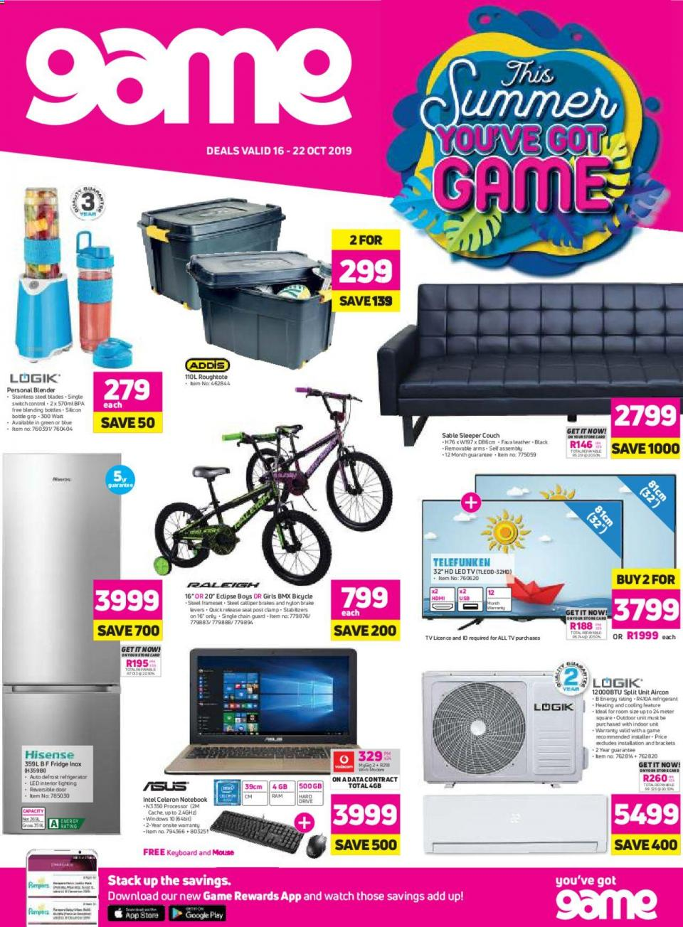 game specials national 16 october 2019