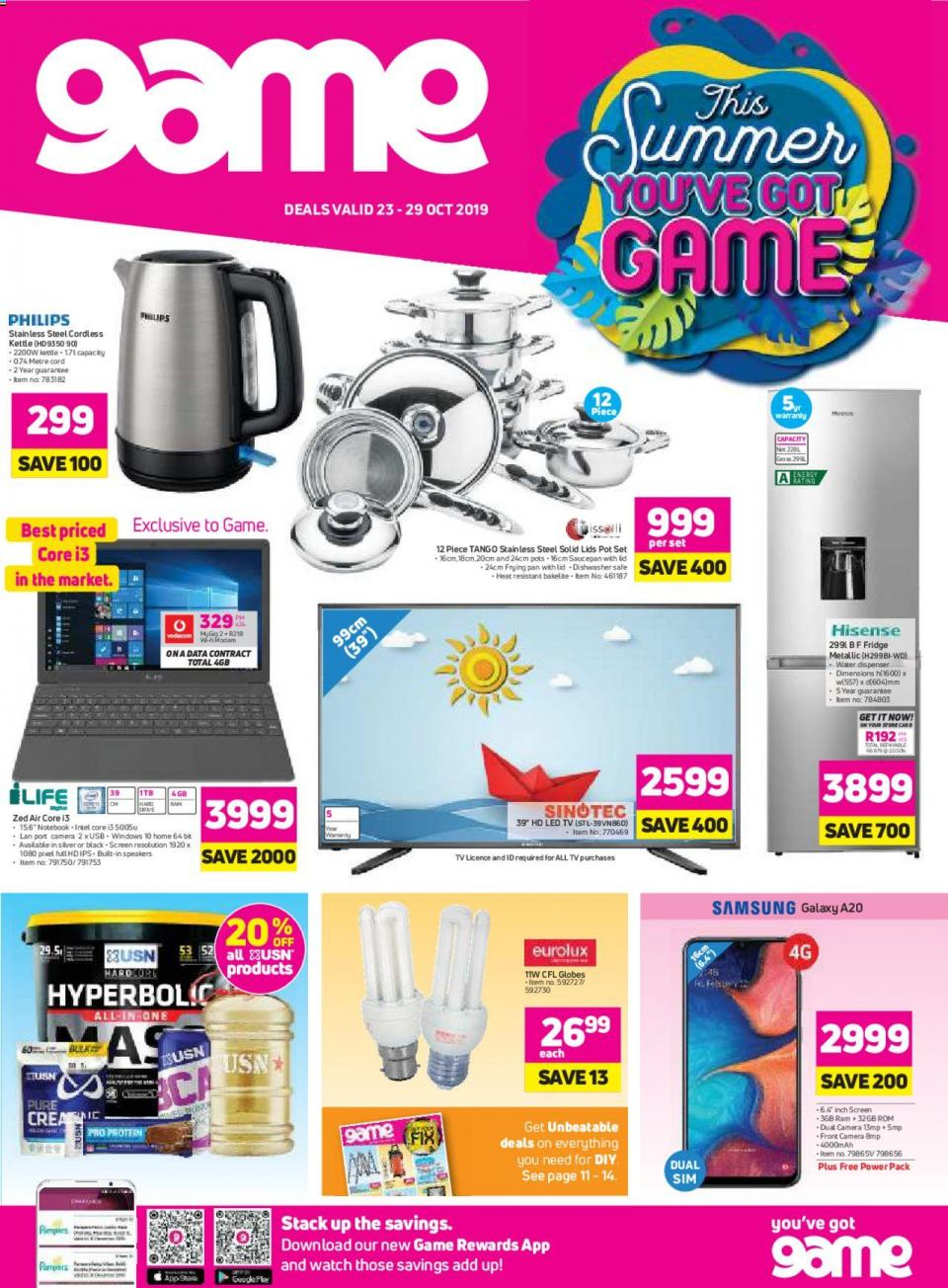 game specials national catalogue 23 october 2019