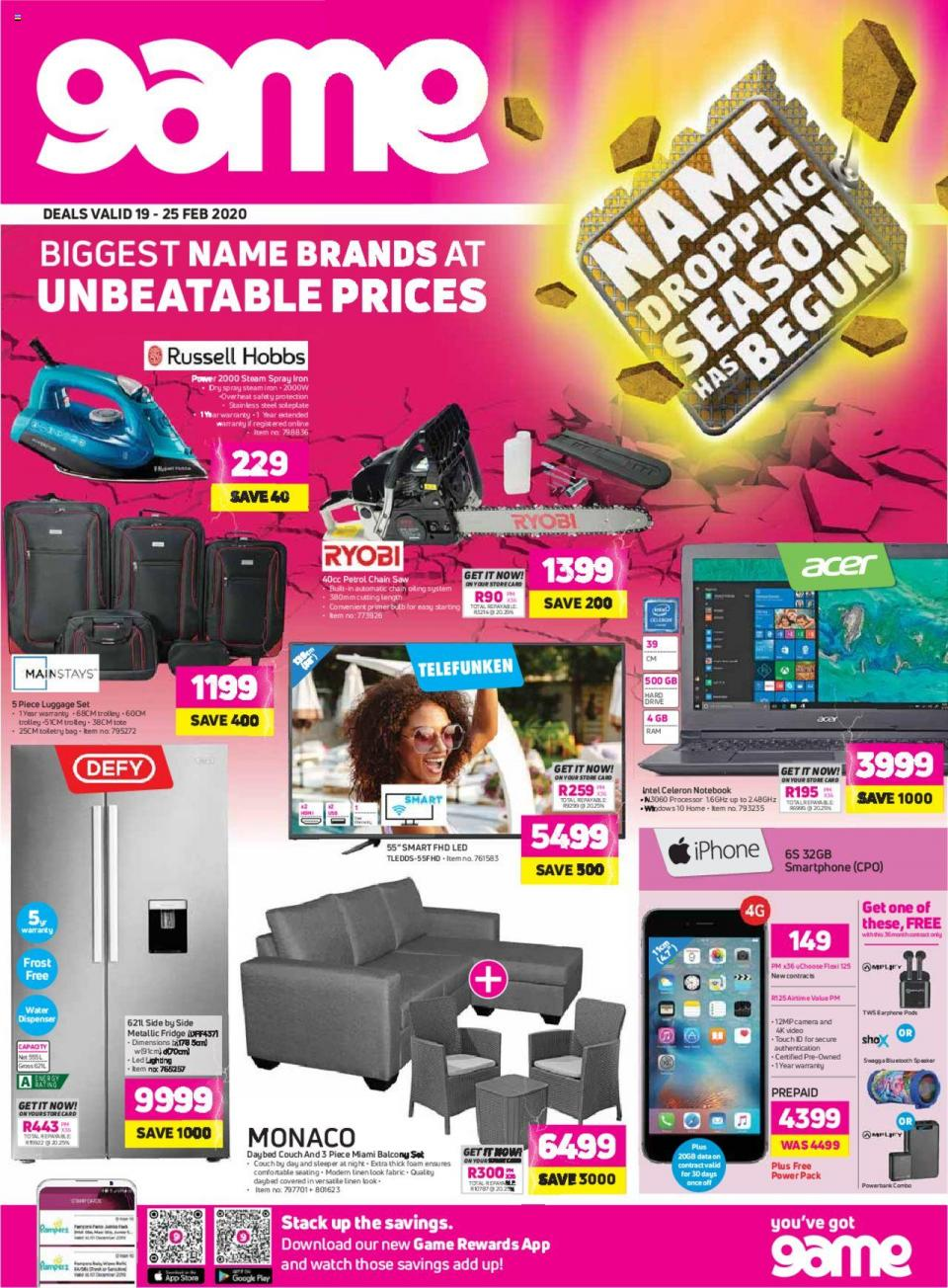 game specials weekly deals 19 february 2020