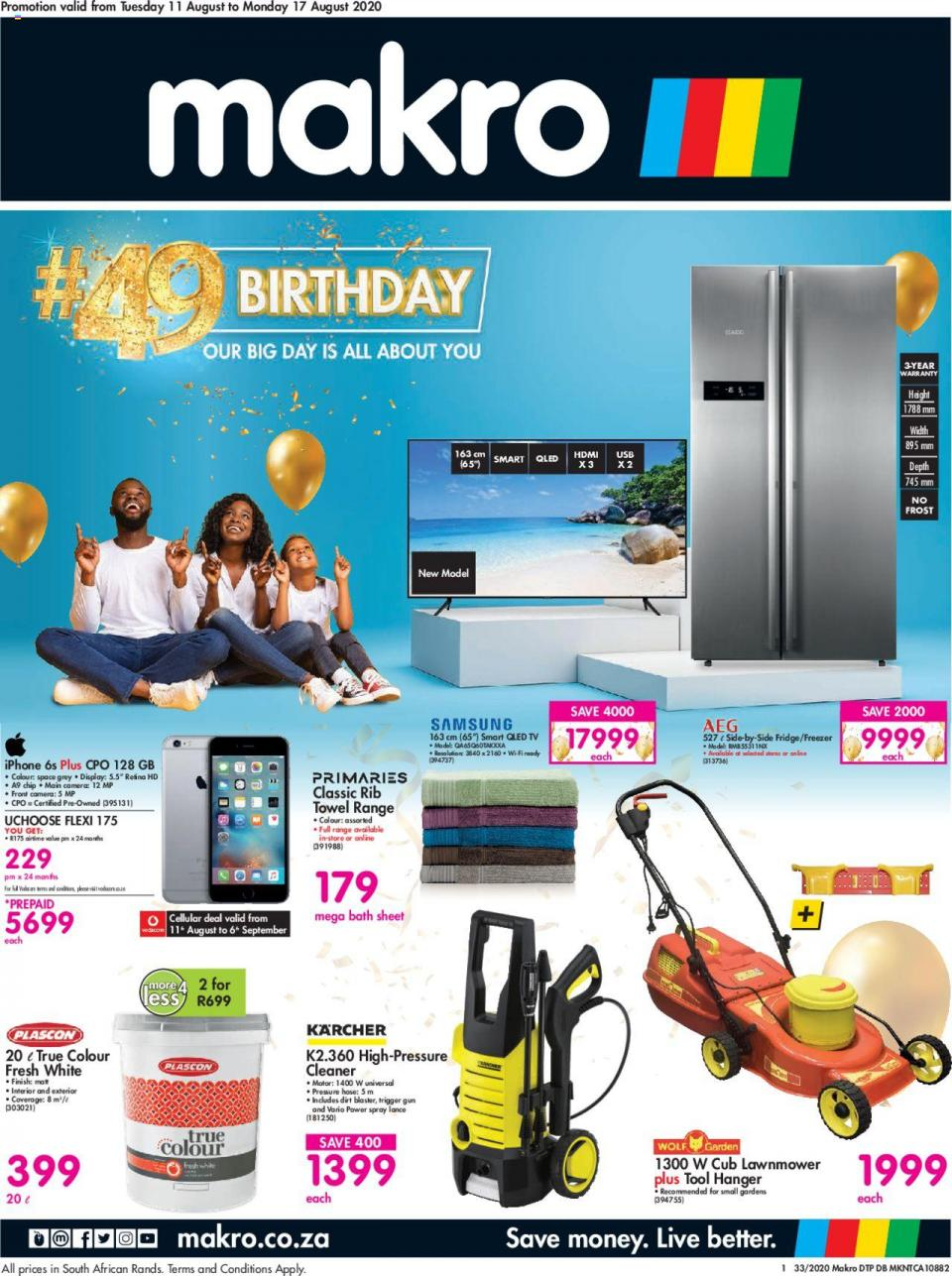 makro specials birthday catalogue 11 august 2020