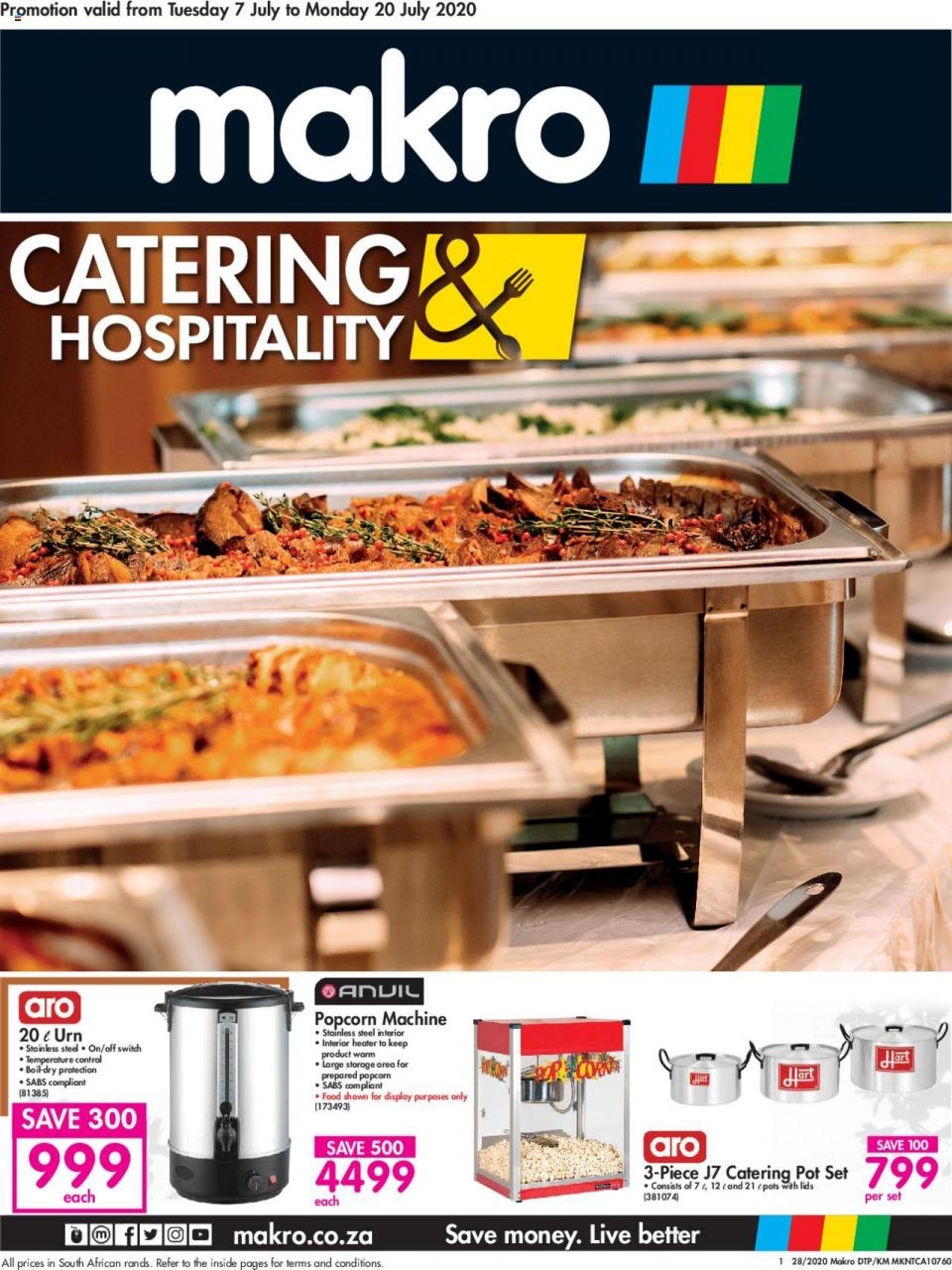 makro specials catering catalogue 7 july 2020