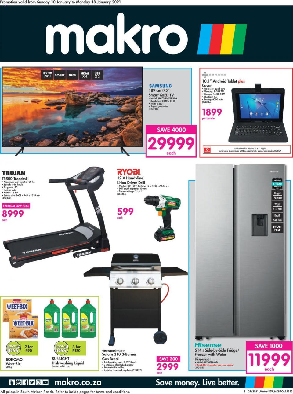 makro specials general merchandise catalogue 10 january 2021