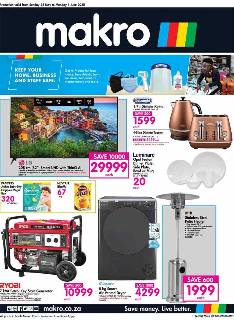 makro specials general merchandise catalogue 24 may 2020