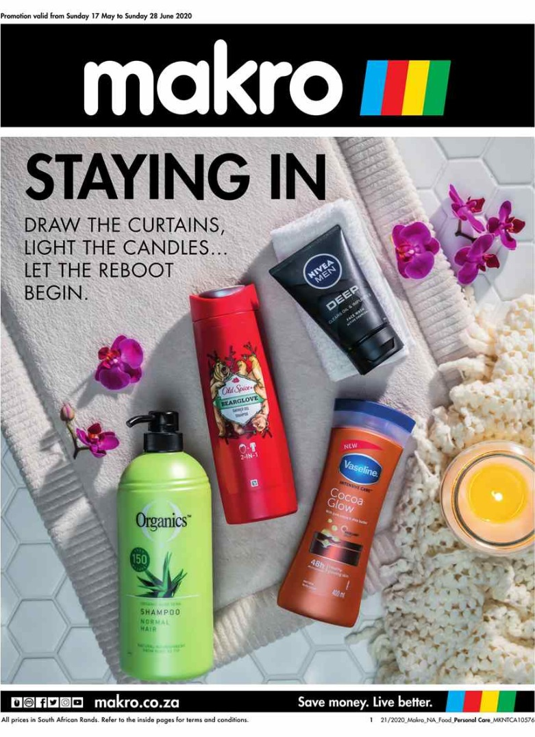 makro specials personal care catalogue 17 may 2020