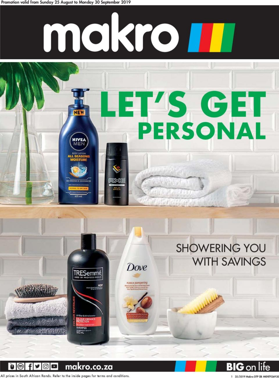 makro specials personal care deal 25 august 2019