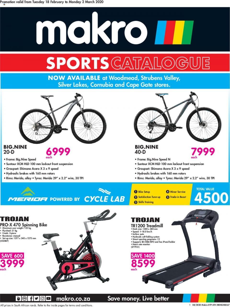 makro specials sports catalogue 18 february 2020