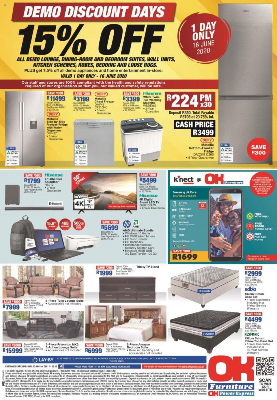 ok furniture specials 15 june 2020