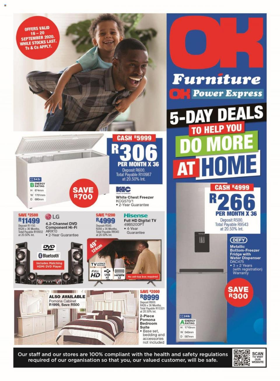 ok furniture specials 16 september 2020