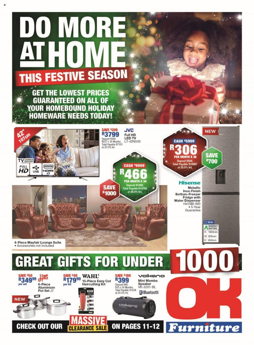 ok furniture specials 19 october 2020