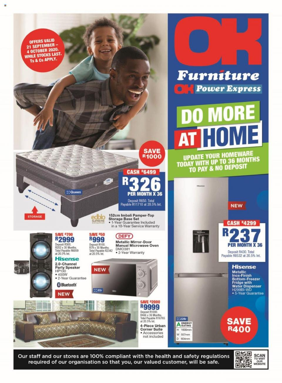 ok furniture specials 21 september 2020
