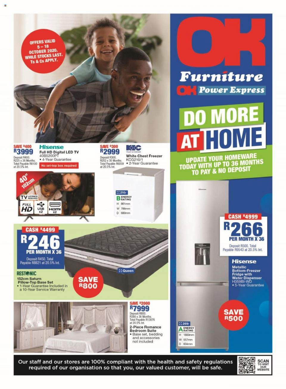 ok furniture specials 5 october 2020