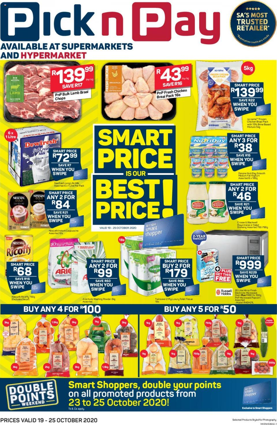 pick n pay specials 19 october 2020