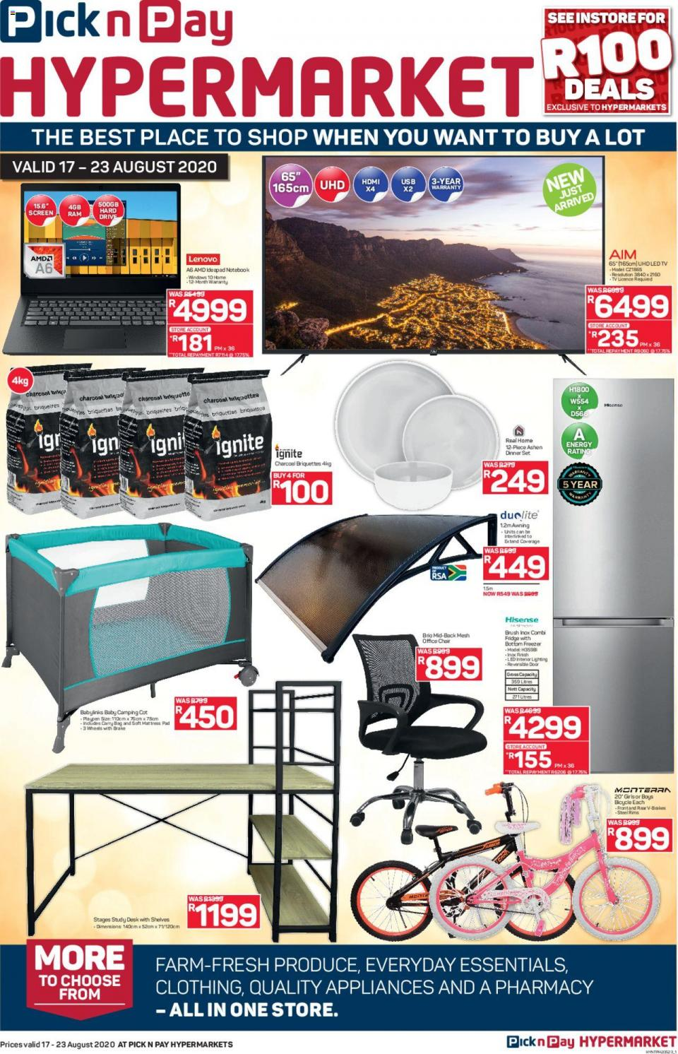 pick n pay specials get more savings hypermarkets 17 august 2020