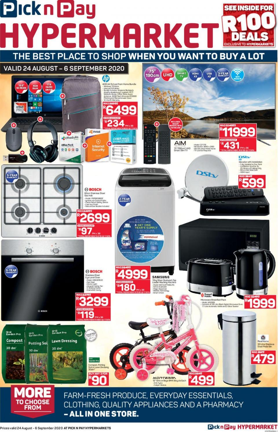 pick n pay specials hypermarkets 24 august 2020