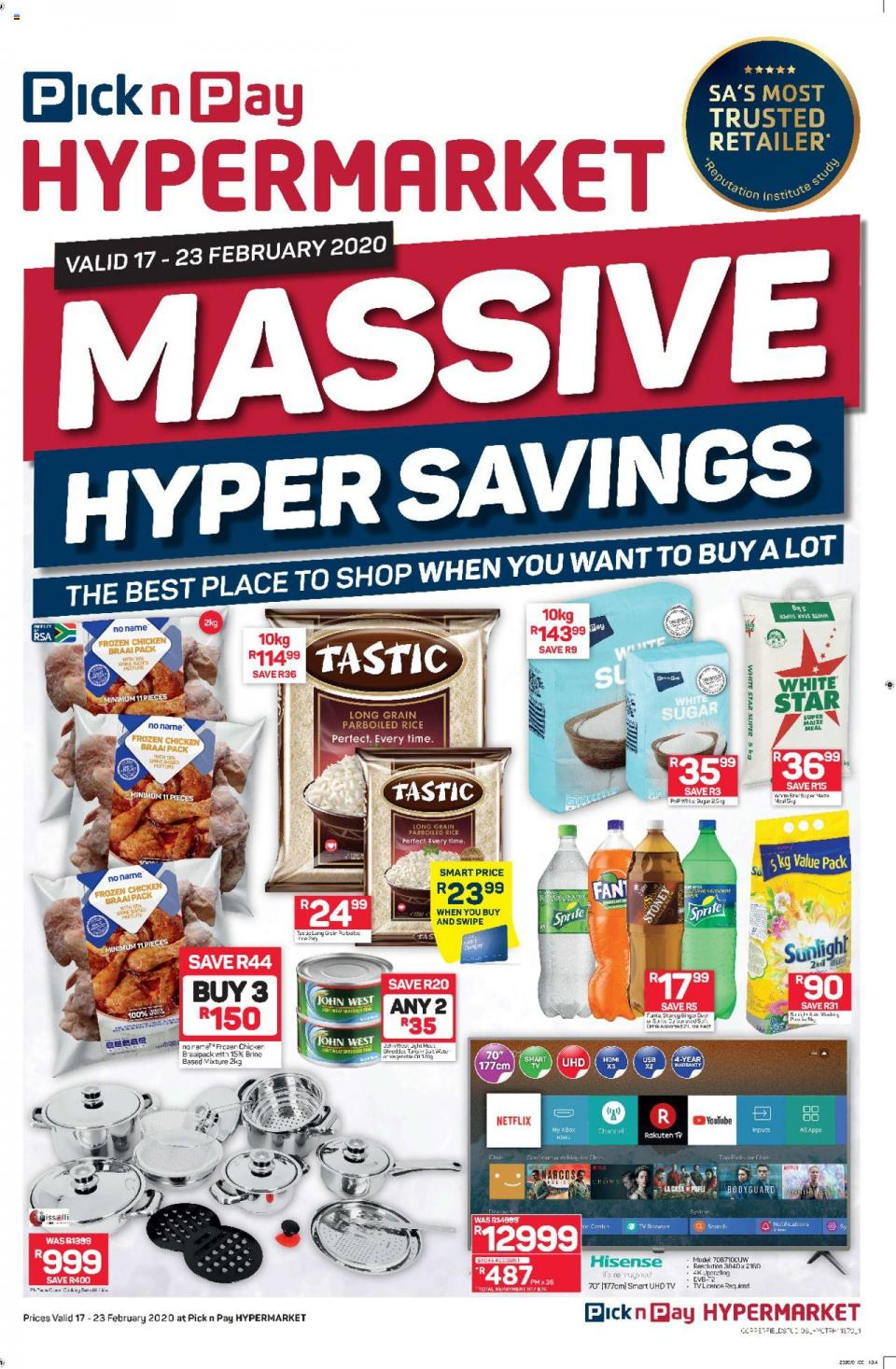 pick n pay specials new catalogue 17 february 2020