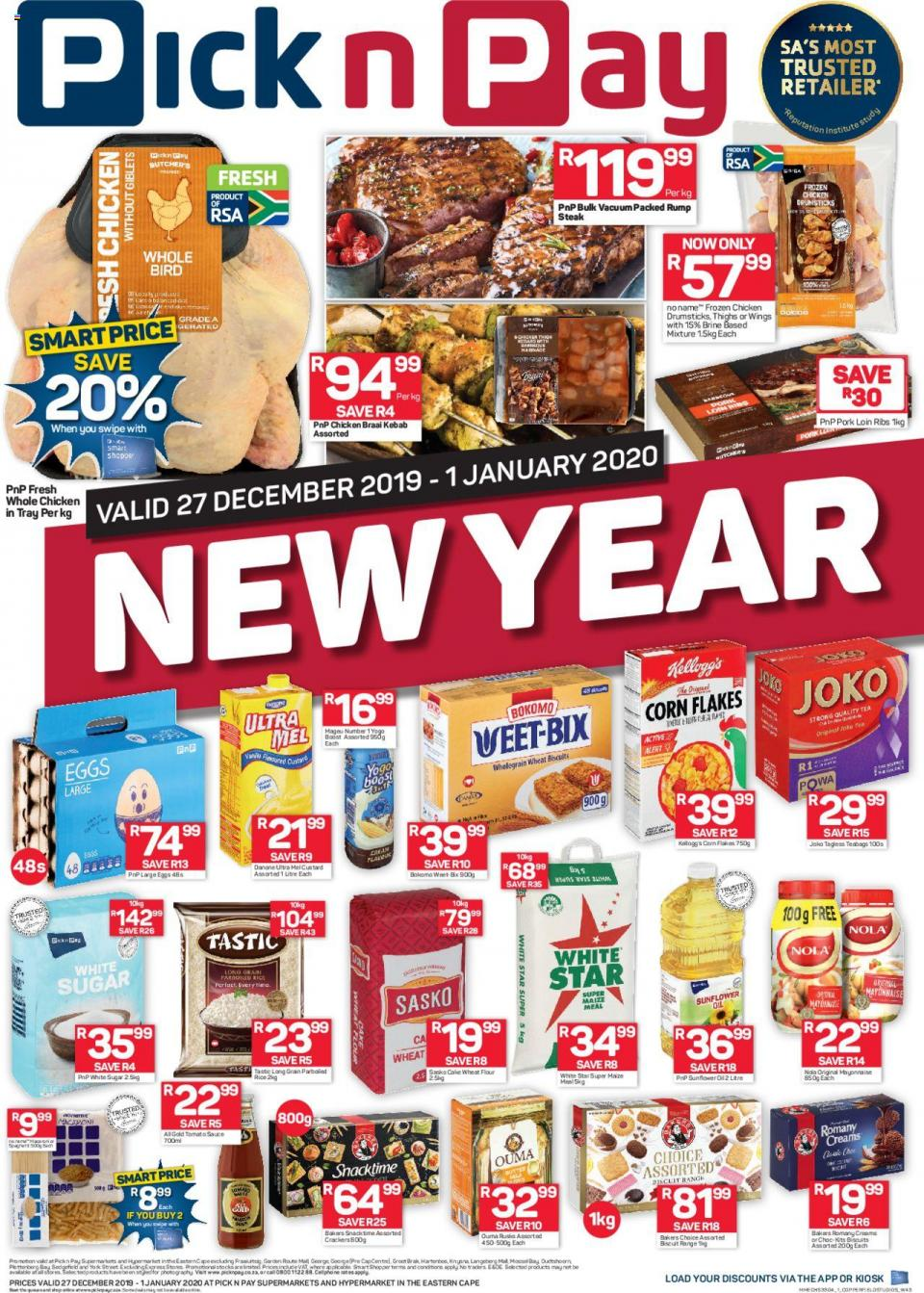 pick n pay specials new year sale 27 december 2019