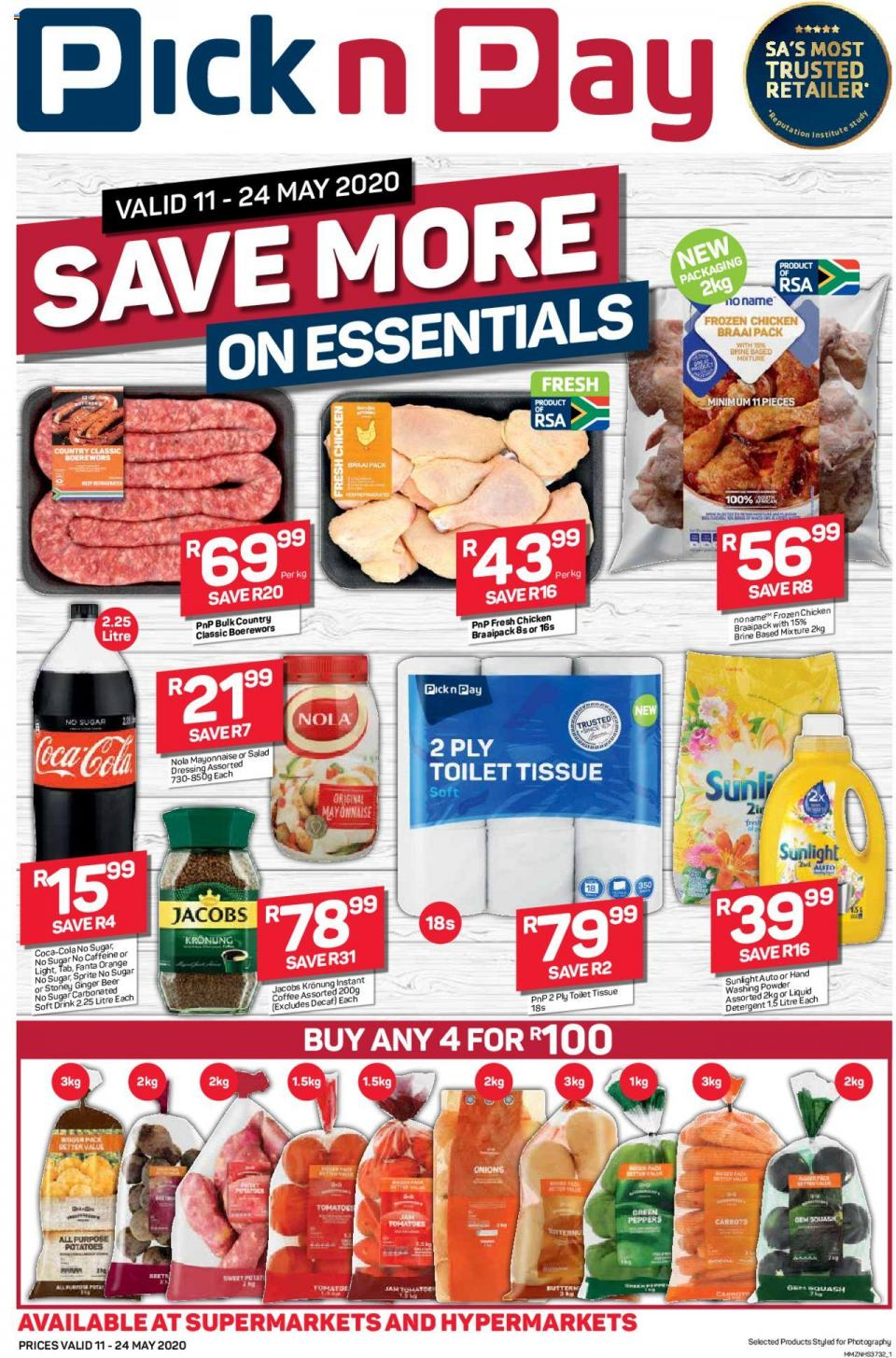 pick n pay specials save more on essentials 11 may 2020