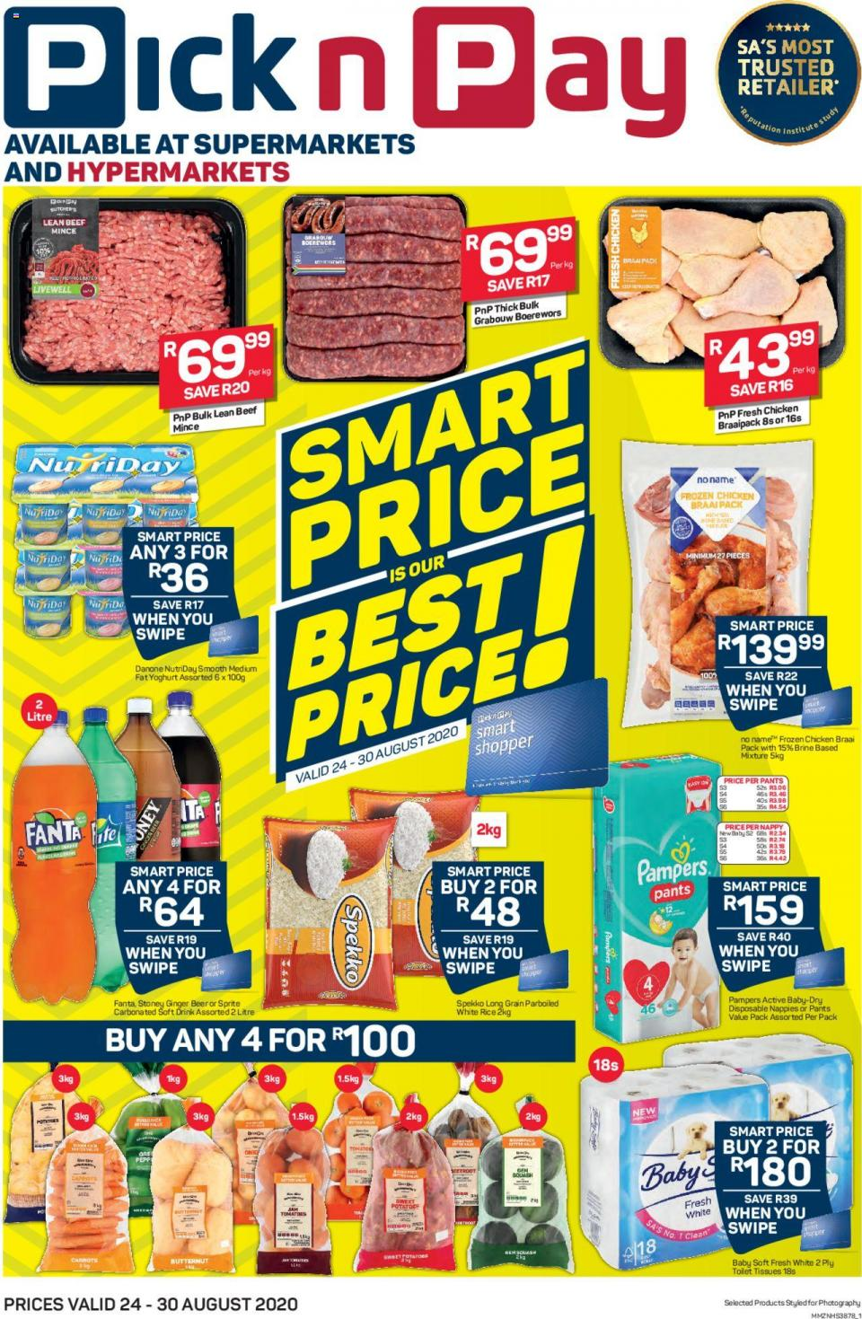 pick n pay specials smart price 24 august 2020
