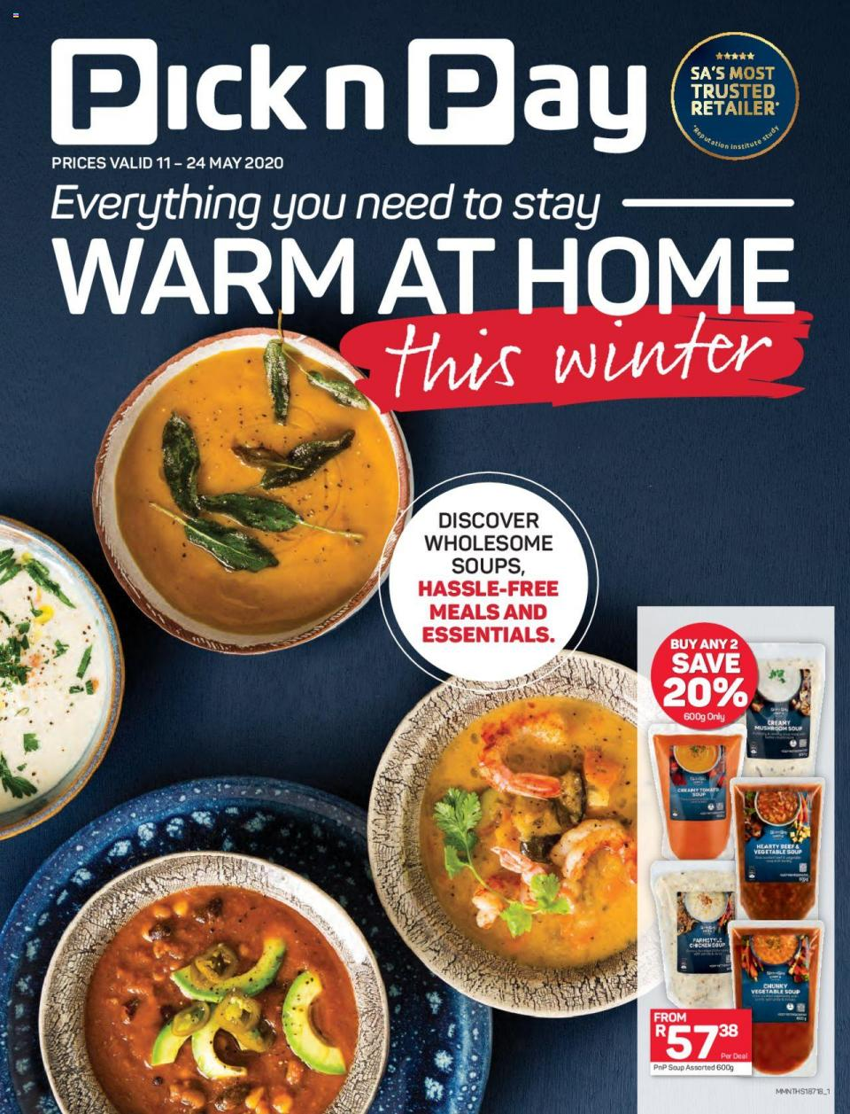pick n pay specials stay warm at home 11 may 2020