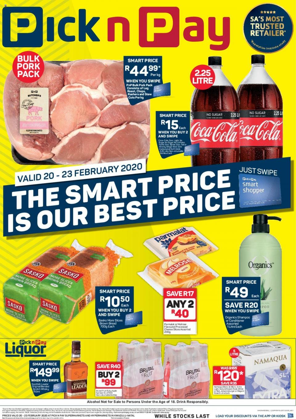 pick n pay specials this weekend 20 february 2020