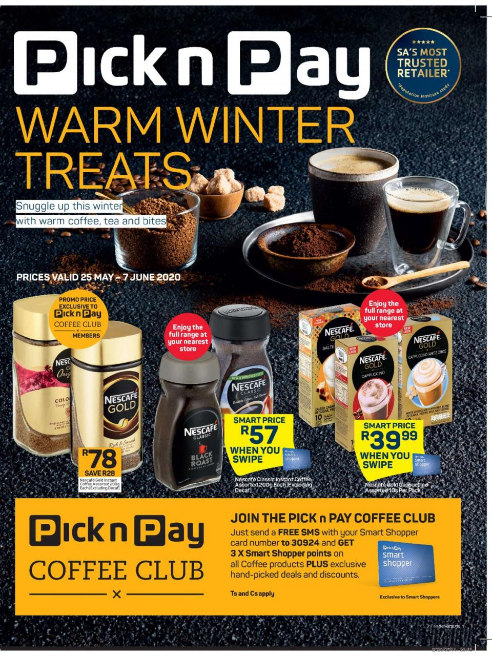 pick n pay specials winter beverages 25 may 2020