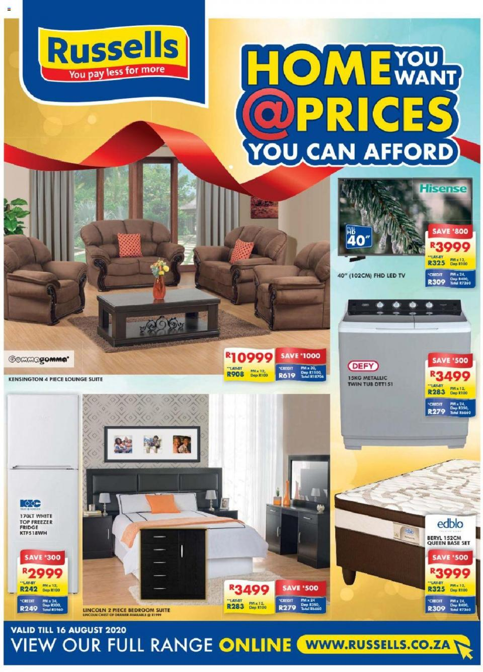 russells catalogue 20 july 2020