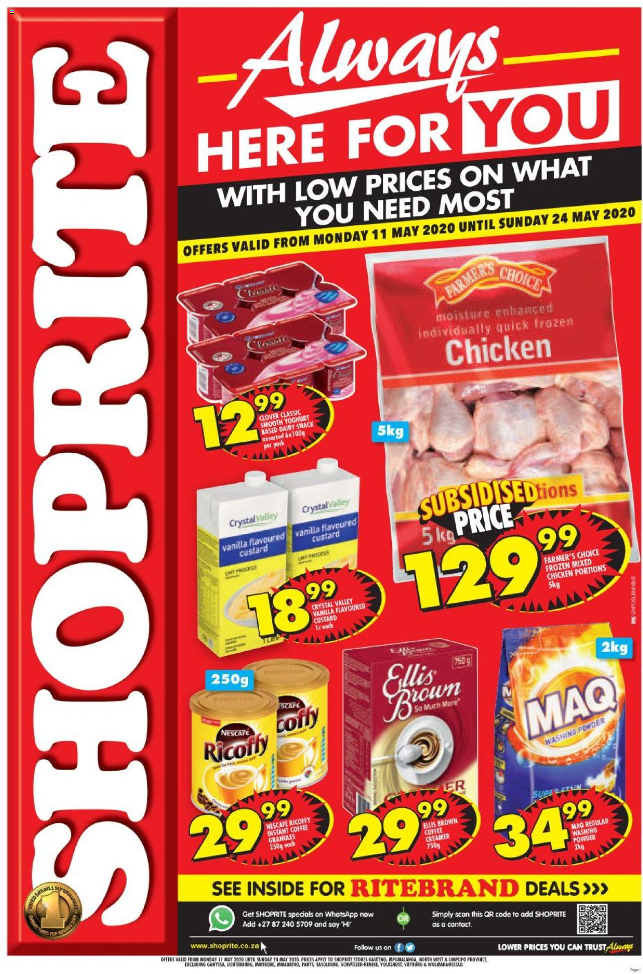 shoprite specials always here for you 11 may 2020