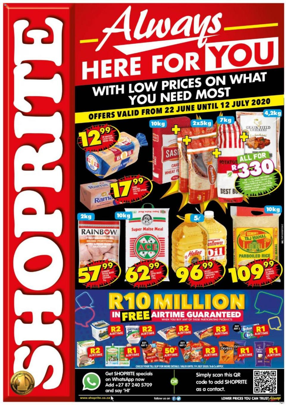 shoprite specials always here for you 22 june 2020