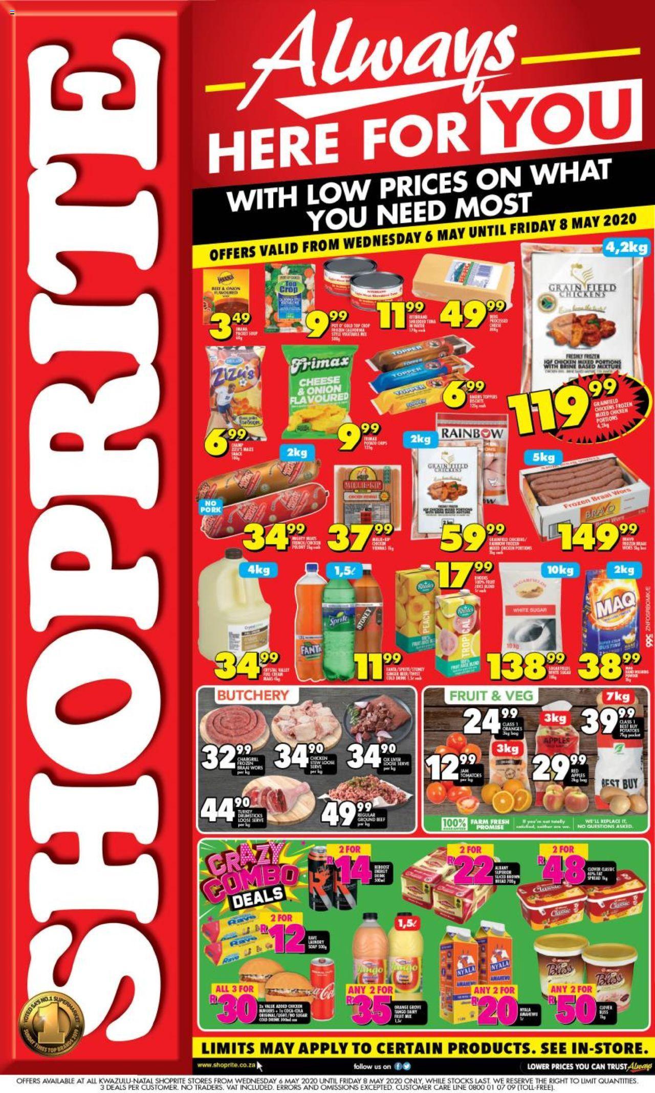 shoprite specials always here for you 6 may 2020