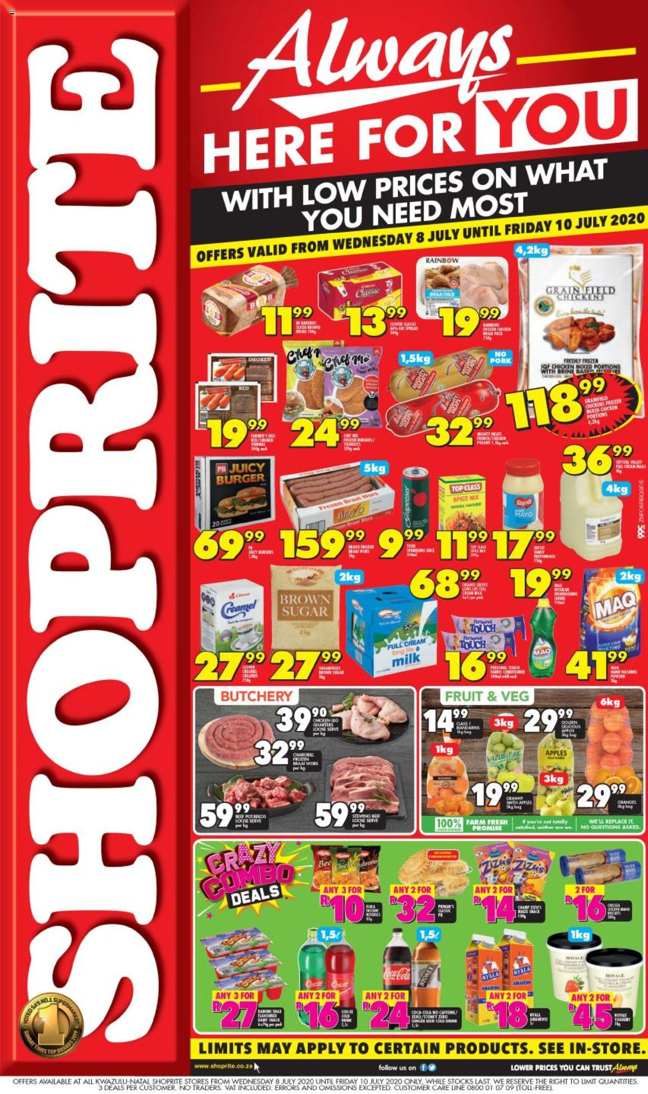 shoprite specials always here for you 8 july 2020
