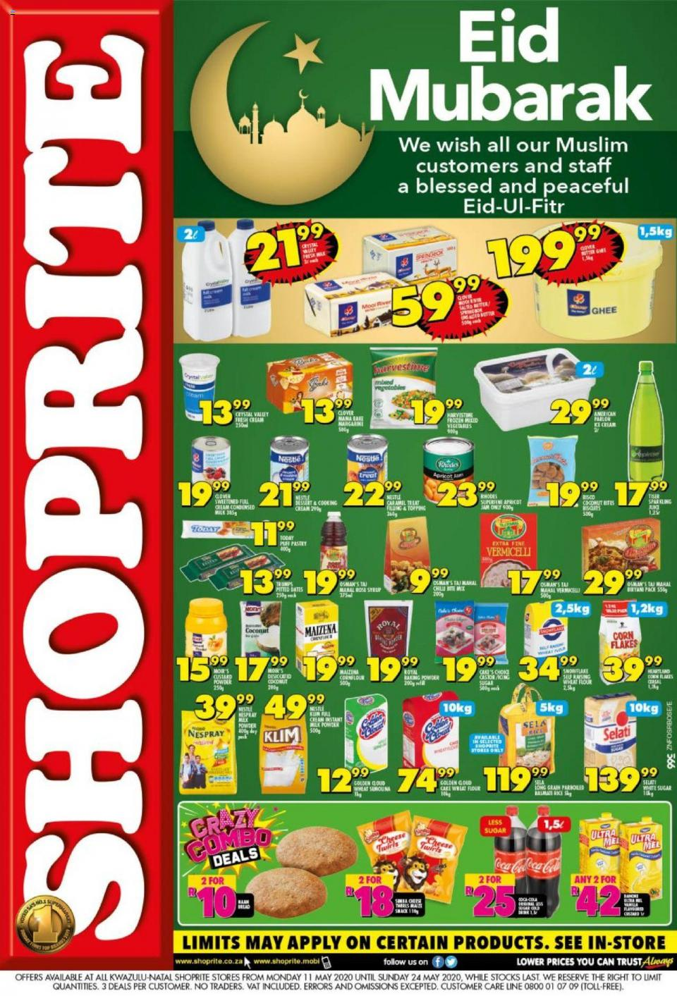 shoprite specials eid mubarak 11 may 2020