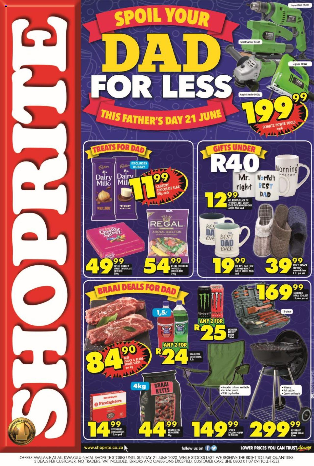 shoprite specials fathers day promotion 16 june 2020