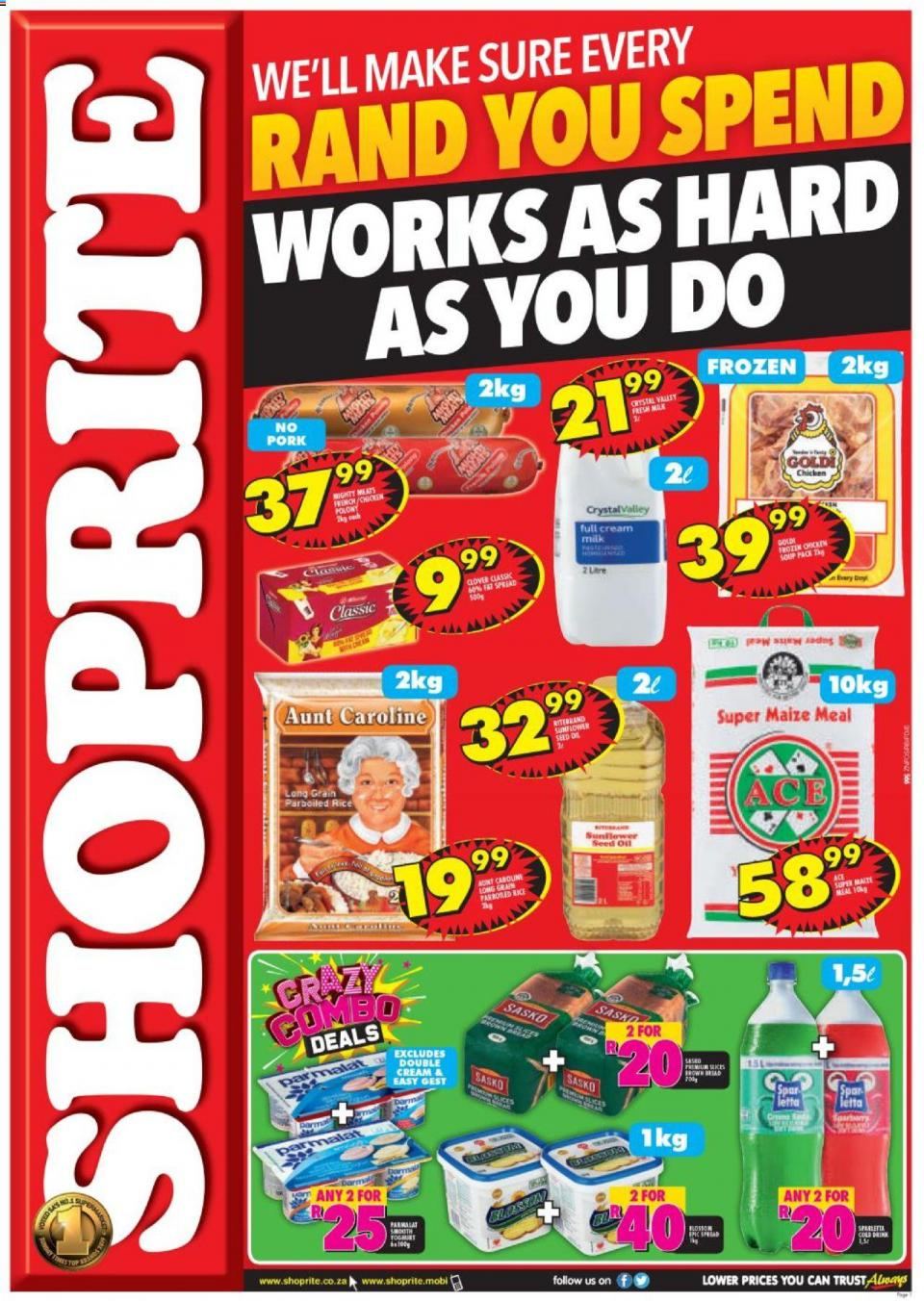 shoprite specials hustle promotion 07 october 2019 kwazulu natal
