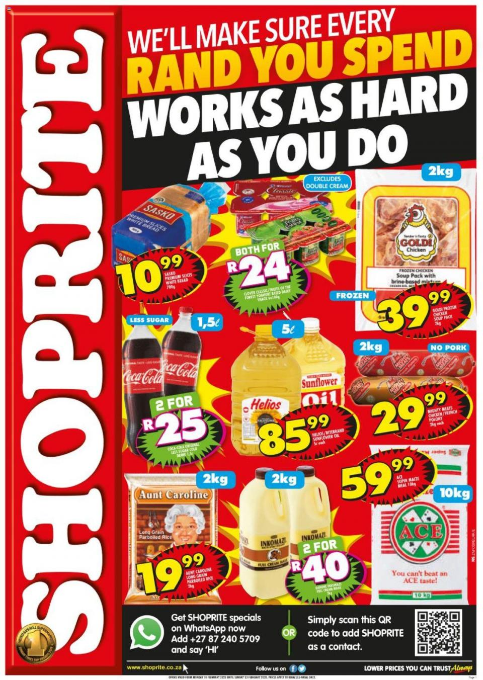 shoprite specials hustle promotion 10 february 2020