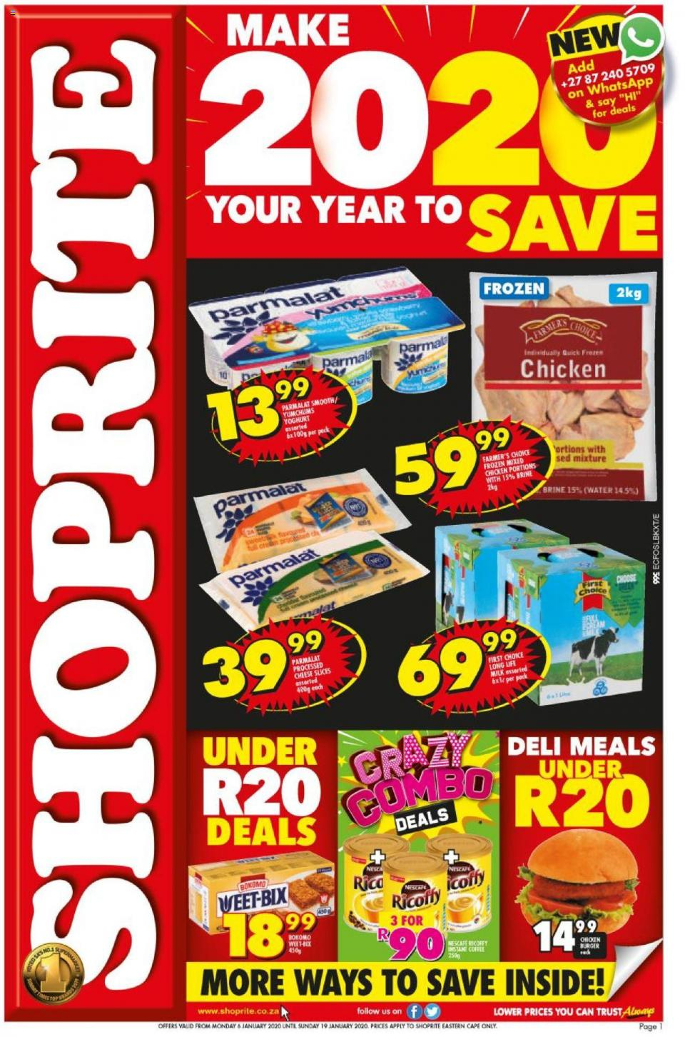 shoprite specials jan price savings eastern cape 7 january 2020