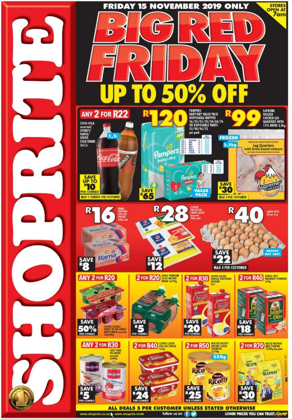 shoprite specials northern cape black friday 15 november 2019