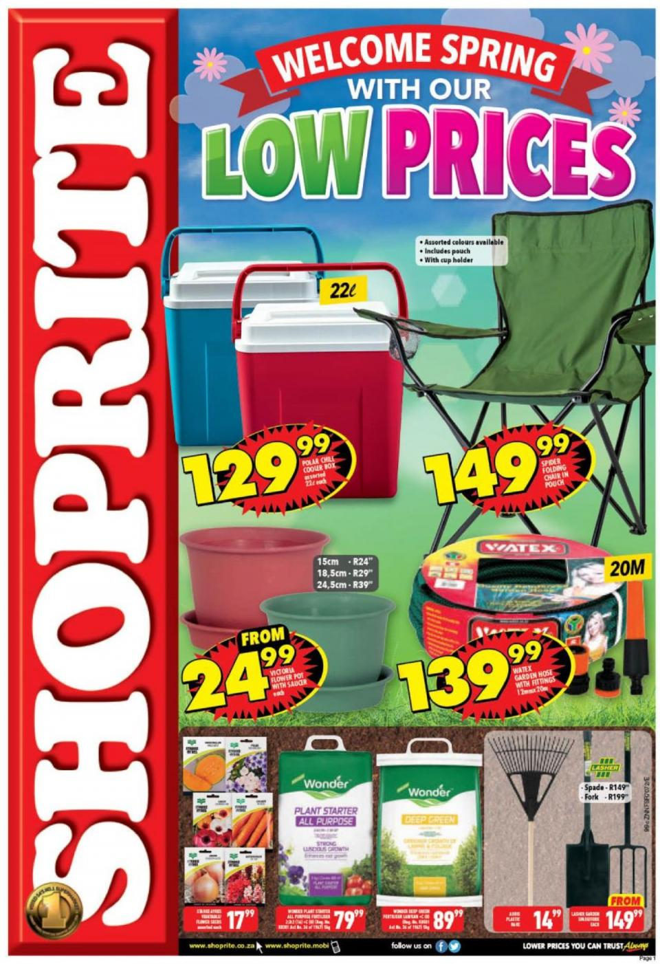 shoprite specials spring promotion 30 september 2019 kwazulu natal