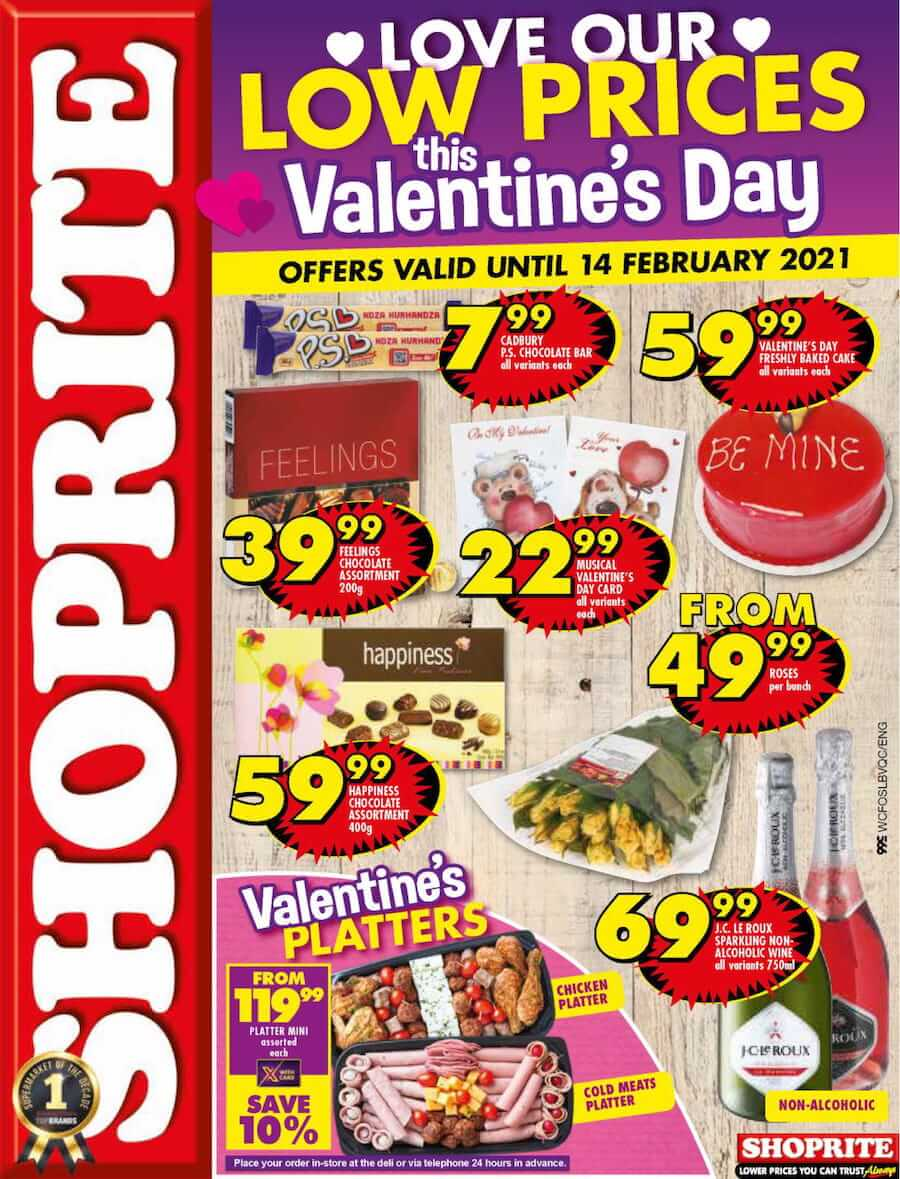 Does Shoprite Open On Christmas Day 2021 Shoprite Specials 8 February 2021 Shoprite Catalogue Valentine S Day