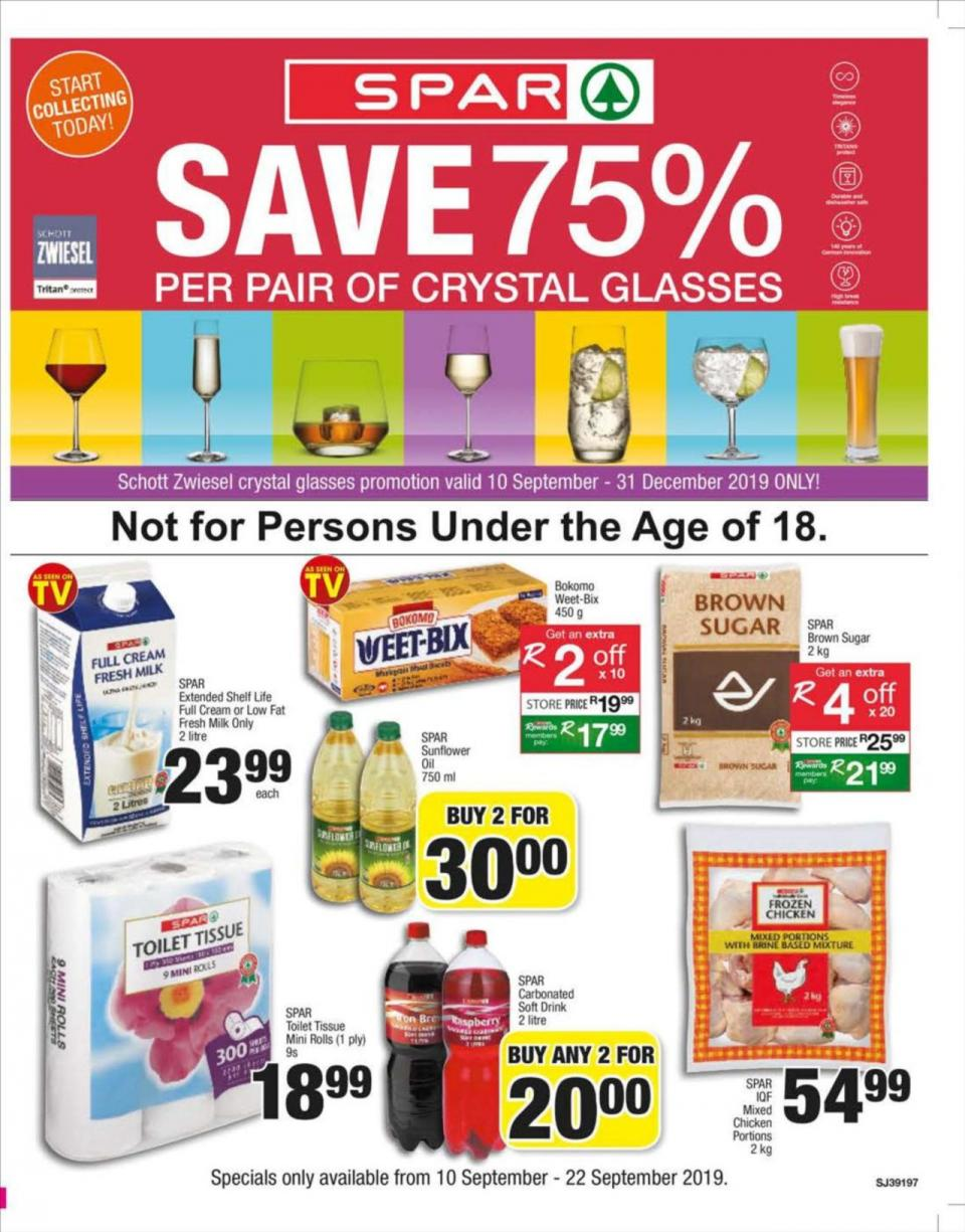 spar specials 10 september 2019 gauteng