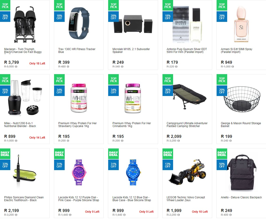 Takealot Specials Daily Deals 17 March 2020