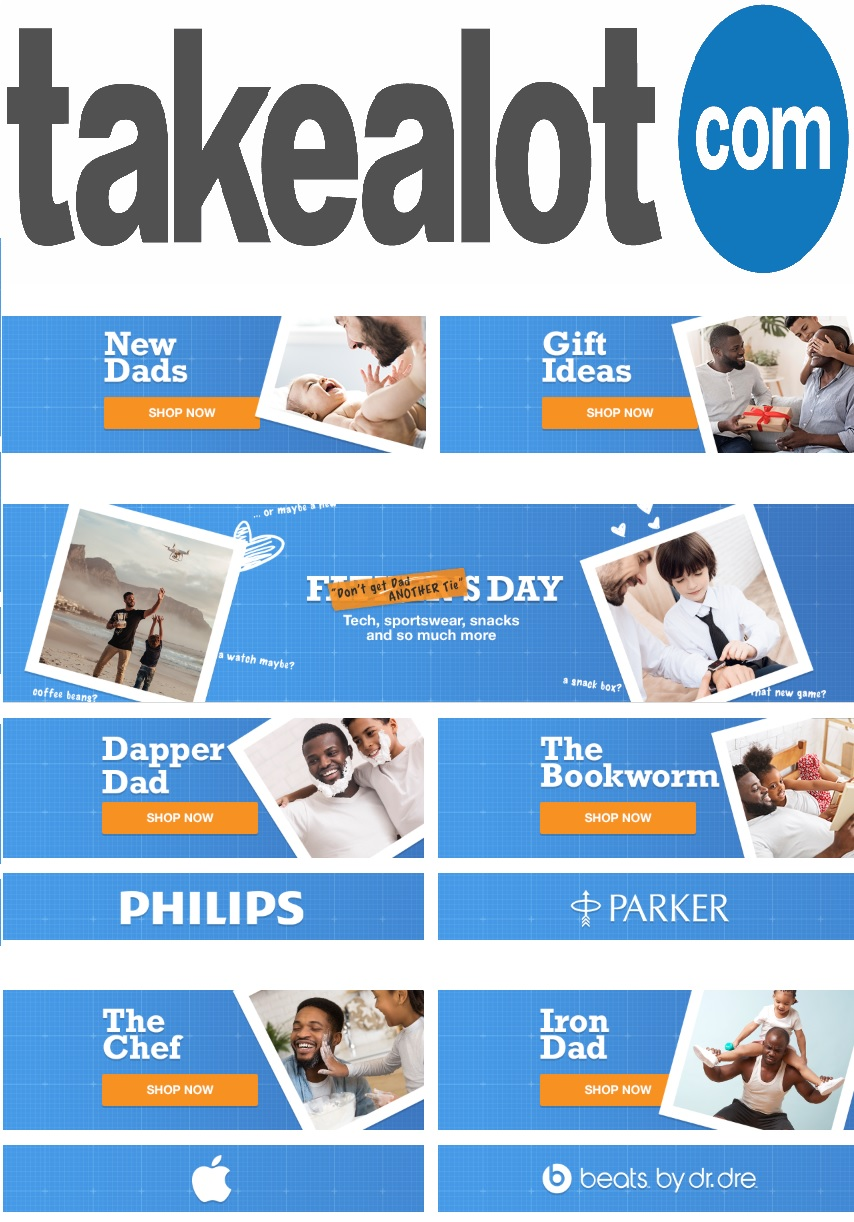 takealot specials father's day 7 june 2020