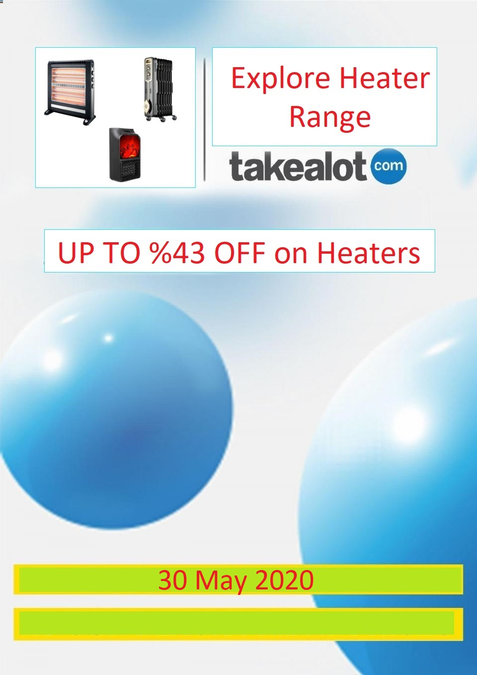 takealot specials heaters 30 may 2020