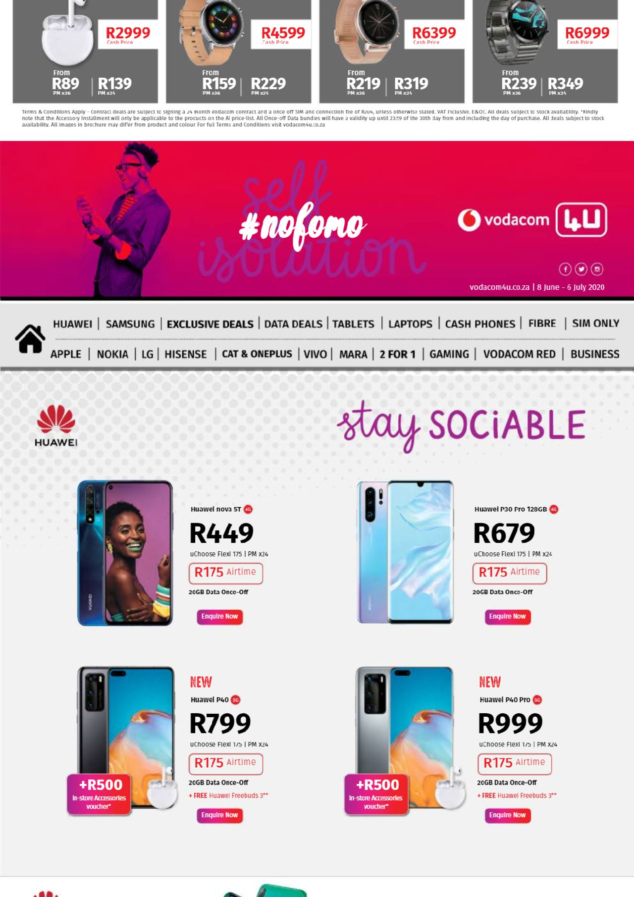 vodacom specials june 2020